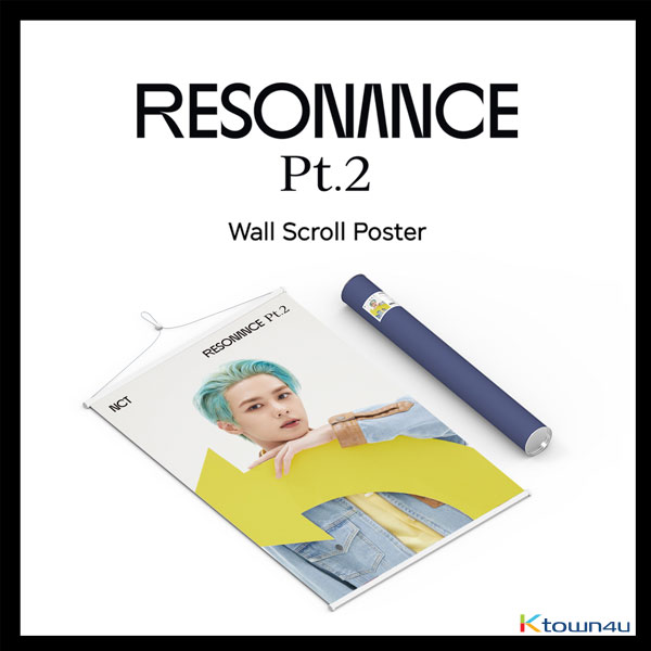 NCT - Wall Scroll Poster (Kun RESONANCE Pt.2 ver) (Limited Edition)