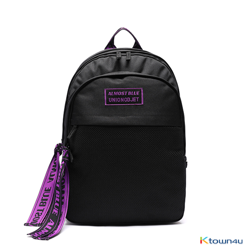 [ALMOSTBLUE X UNION OBJET] ULTRA VIOLET BACKPACK_2colors