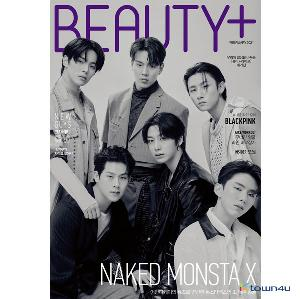BEAUTY+ 2021.02 (Cover : MONSTA X Group)