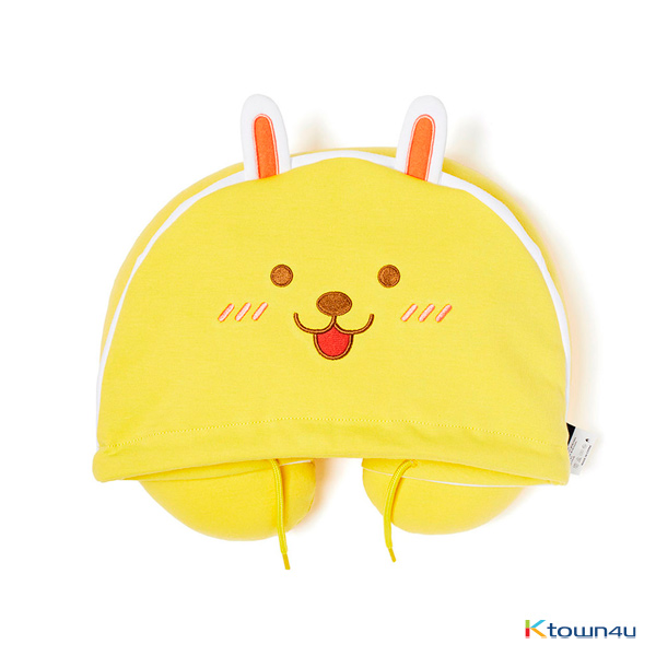 [KAKAO FRIENDS] Hoodie Neck Pillow (Little Muzi)