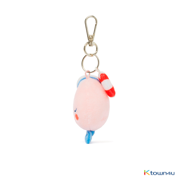 [KAKAO FRIENDS] Marine Face Type Keyring (Apeach)