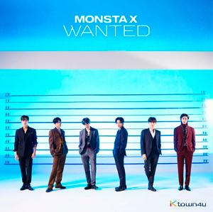 MONSTA X - Album [Wanted] (LP Size Jacket) (CD) (Limited Edition B) (Japanese Ver.) (*Order can be canceled cause of early out of stock)