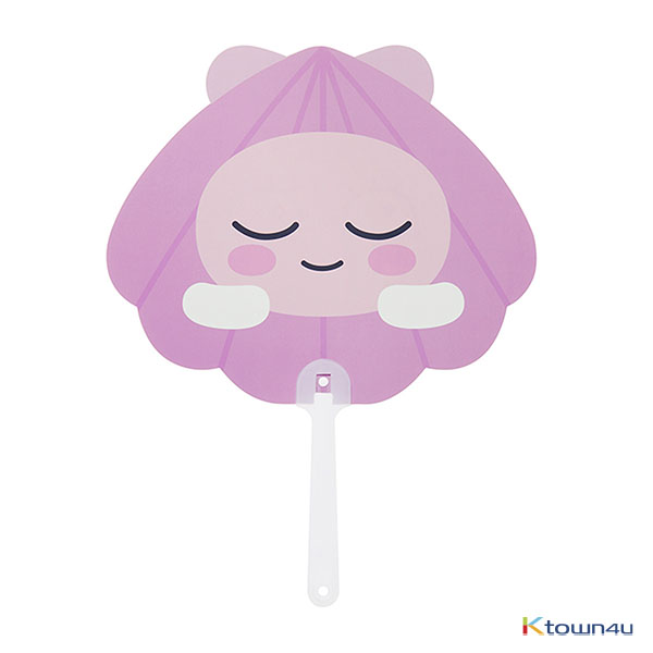[KAKAO FRIENDS] Hand Fan (Shell Apeach)