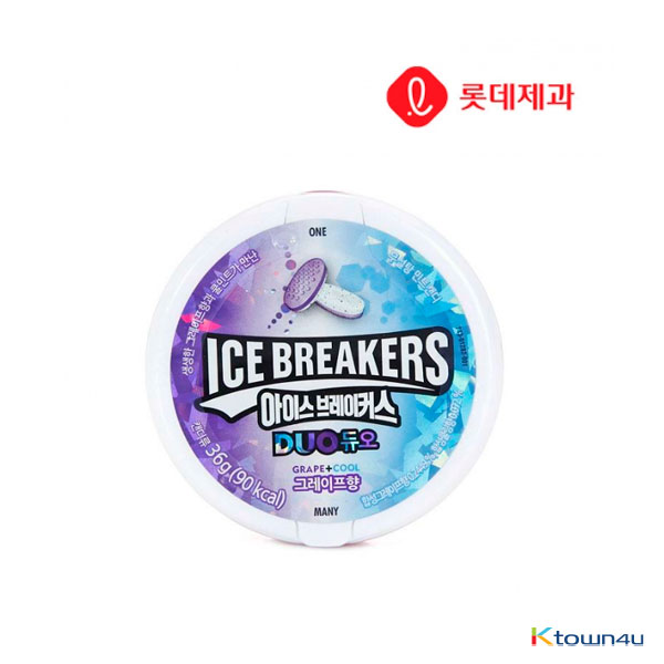[LOTTE] Ice Breaker Duo Grape 36g*1EA