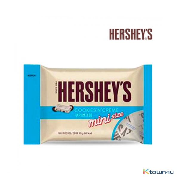 [LOTTE] HERSHEY`S cookie & cream  snack size 165g*1PACK