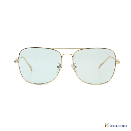 [hybition] Rover Original sunglass_Gold/Green Tint Lens