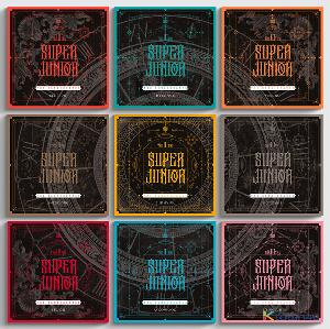 SUPER JUNIOR - Album Vol.10 [The Renaissance] (SQUARE Style) (Random Ver.) *Different versions will be sent in case of purchasing 9 or more