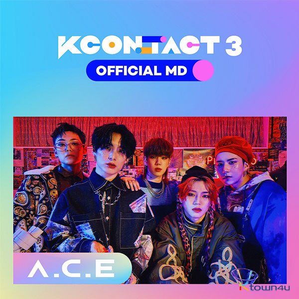 A.C.E - TICKET & AR CARD SET [KCON:TACT3 OFFICIAL MD]