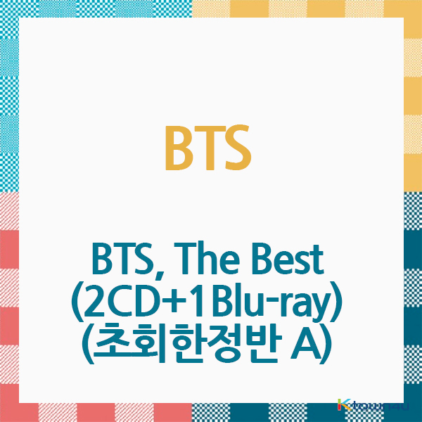 [BTS ALBUM] BTS - Album [The Best] (2CD+1Blu-ray) (Japanese Ver.) (Limited Edition A) (*Order can be canceled cause of early out of stock)
