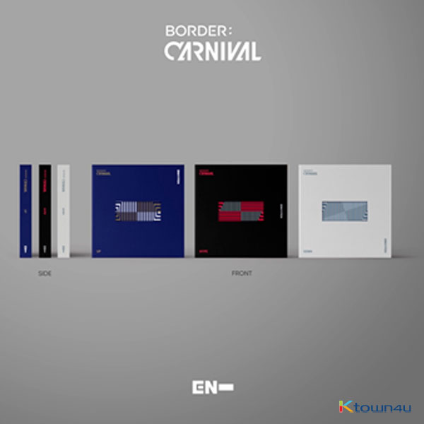 [3CD SET] ENHYPEN - Mini Album Vol.2 [BORDER : CARNIVAL] (UP Ver. + HYPE Ver. + DOWN Ver.)