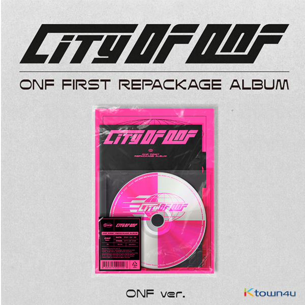 ONF - REPACKAGE Album [CITY OF ONF] (ONF Ver.)