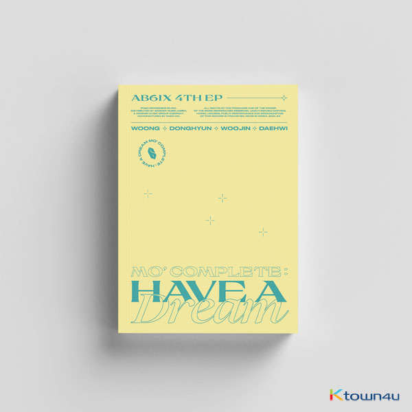 [@AB6IXBrasil] AB6IX - EP Album Vol.4 [MO` COMPLETE : HAVE A DREAM] (DREAM Ver.)