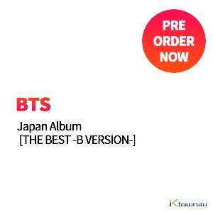 BTS - Japan Album [THE BEST -B VERSION-] (LIMITED EDITION) (2CD+2DVD)
