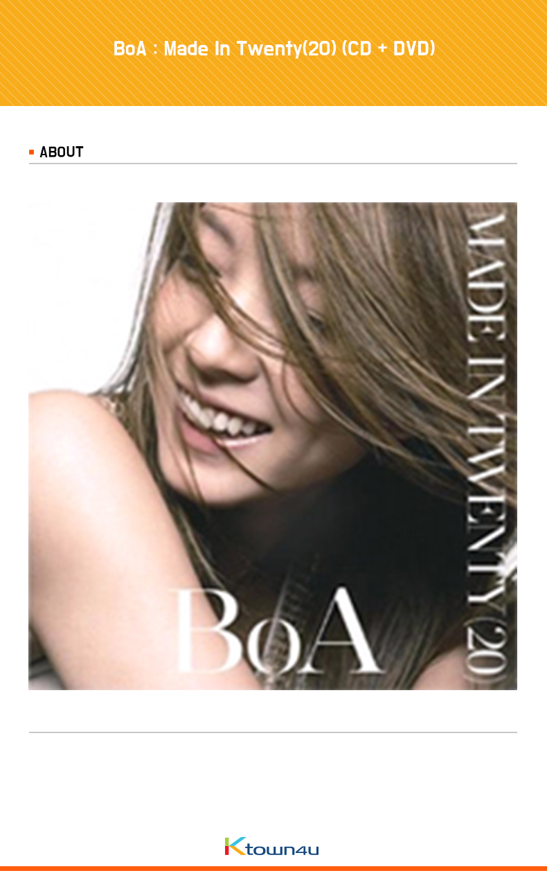 BoA : Made In Twenty(20) (CD + DVD)