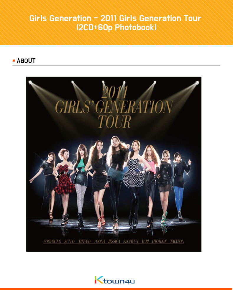 Girls Generation - 2011 Girls Generation Tour (2CD+60p Photobook)