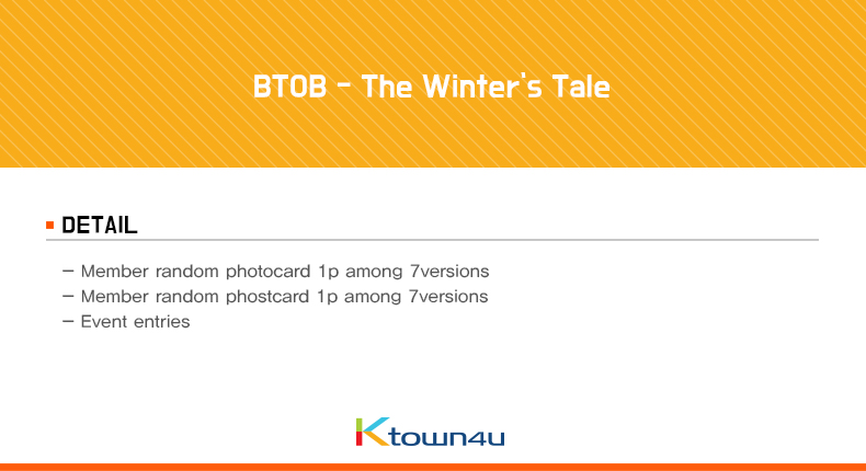 BTOB - The Winter`s Tale
