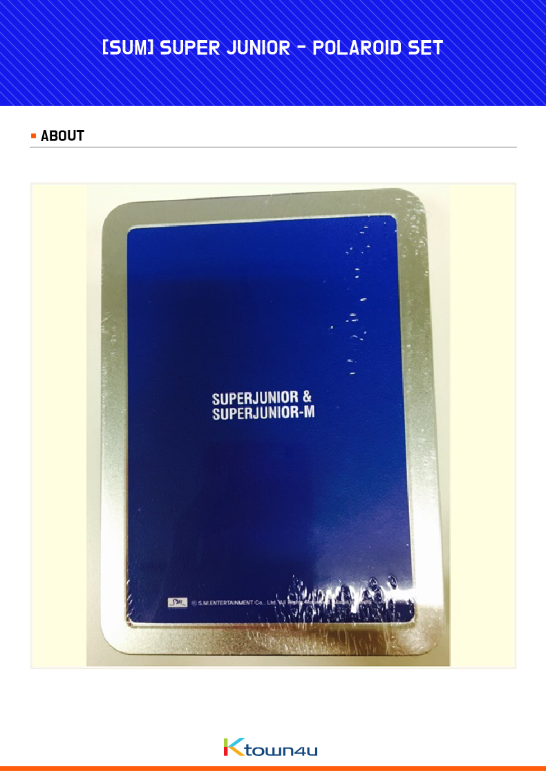 [SUM] SUPER JUNIOR - POLAROID SET