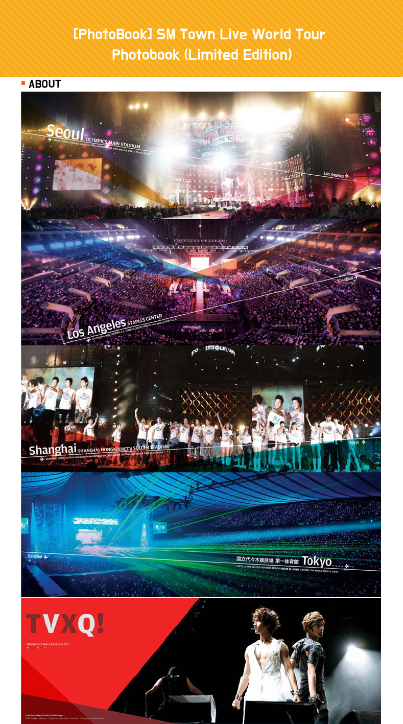 [PhotoBook] SM Town Live World Tour Photobook (Limited Edition)