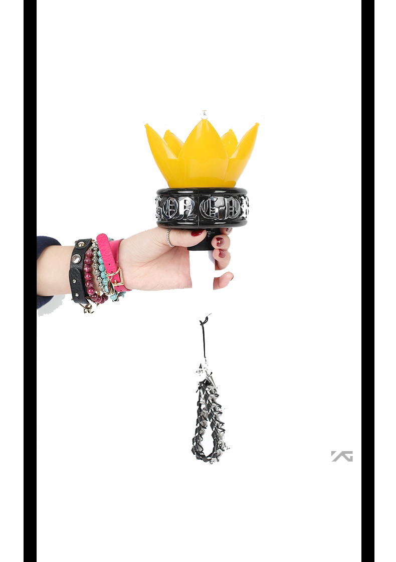 [YG Official MD] G-Dragon One Of A Kind Light Ring (for Big Bang Light Stick)