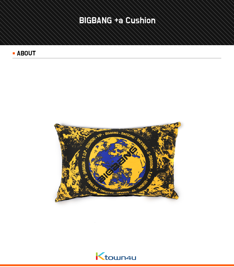 [YG Official MD] BIGBANG +a Cushion