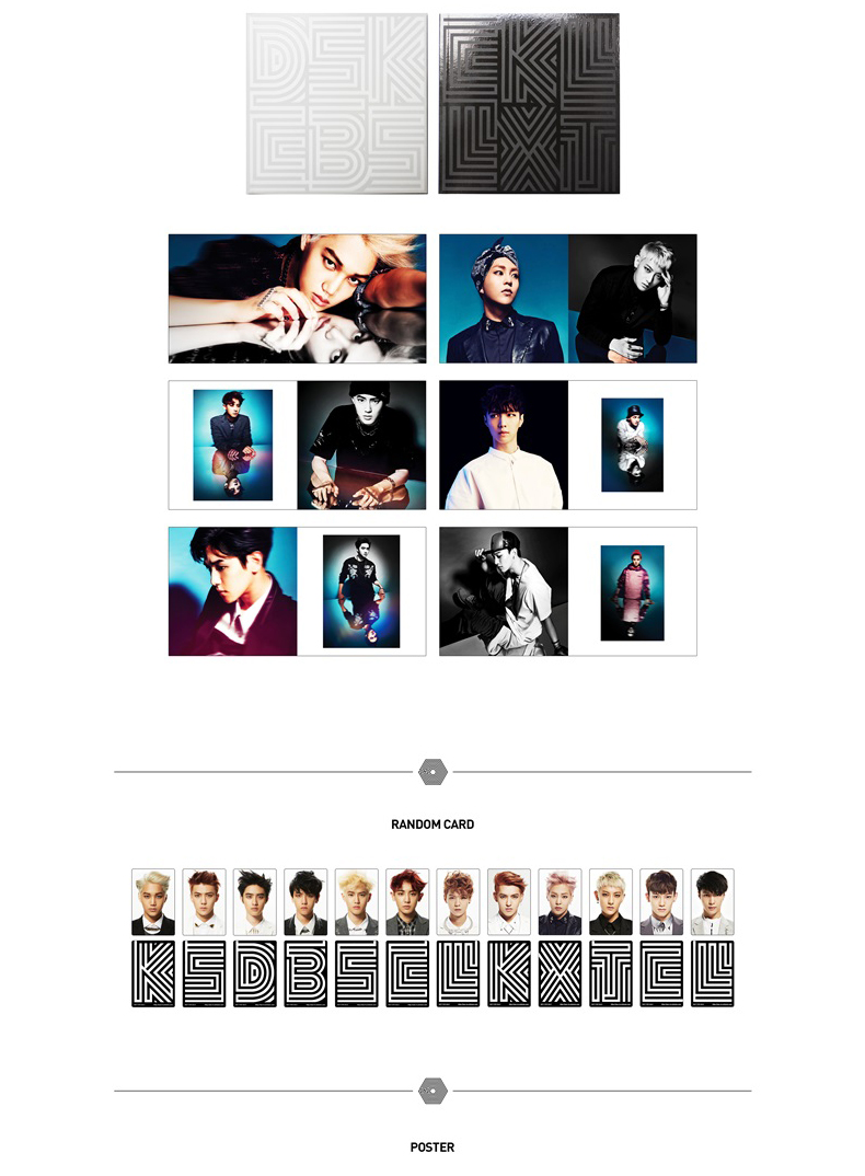 EXO-K - Mini Album Vol.2 [Overdose] ( + Booklet + Random Card 1p)