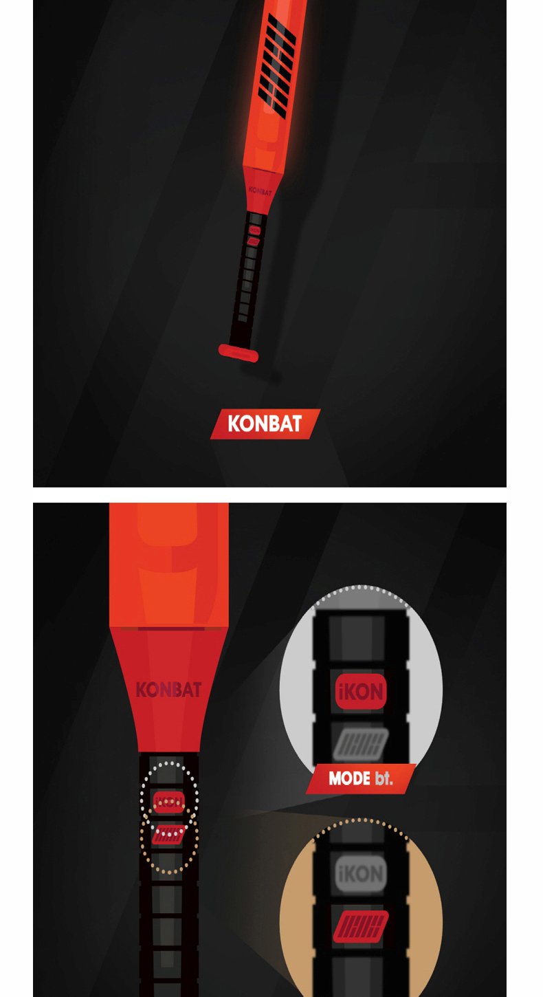 iKON - OFFICIAL LIGHT STICK [KONBAT]