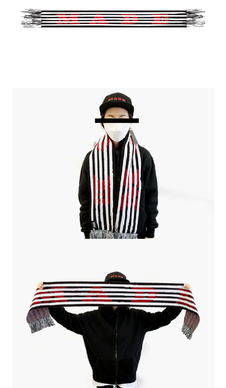 BIGBANG - BIGBANG KNIT SCARF [BIGBANG WORLD TOUR MADE FINAL IN SEOUL]