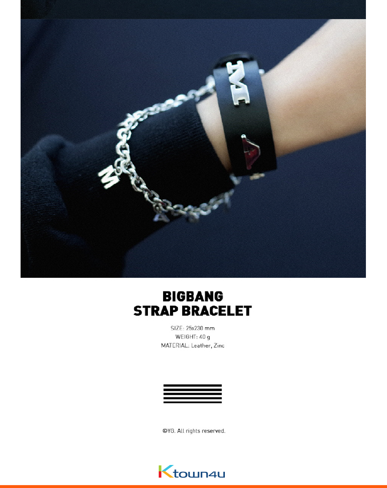 BIGBANG - BIGBANG STRAP BRACELET [BIGBANG WORLD TOUR MADE FINAL IN SEOUL]