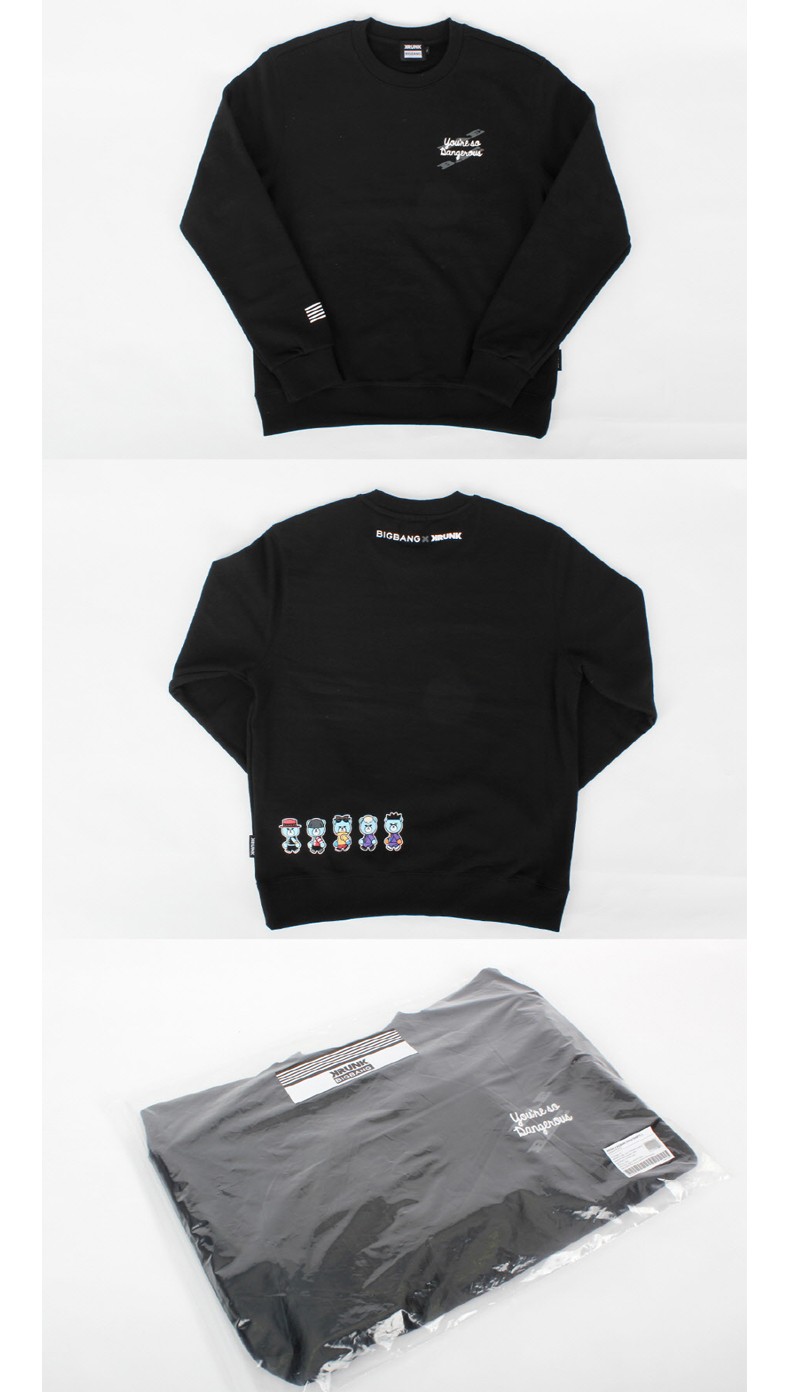 BIGBANG - KRUNK X BIGBANG SWEATSHIRTS_M [BIGBANG WORLD TOUR MADE FINAL IN SEOUL]
