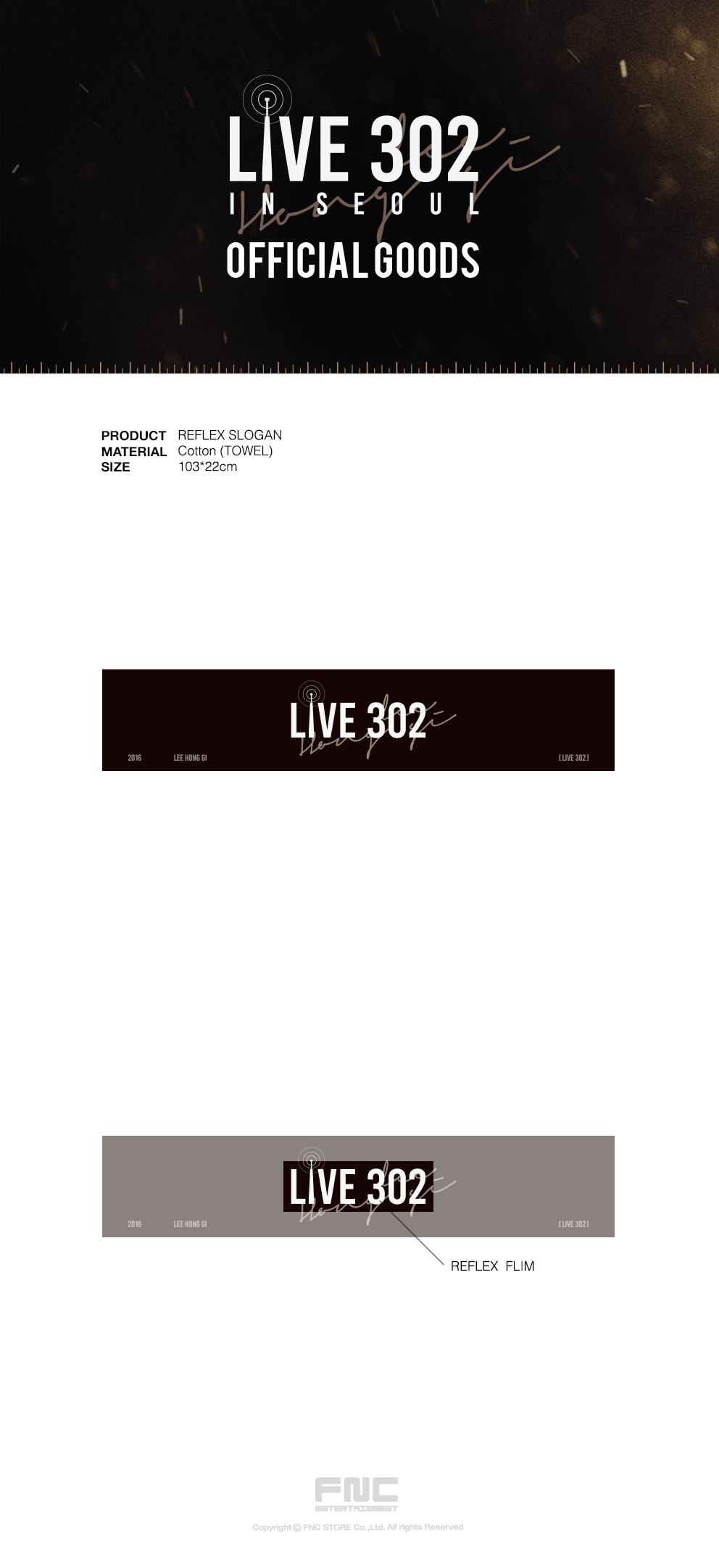 Lee Hong Gi (FTISLAND) - Lee Hong Gi LIVE 302 REFLEX SLOGAN