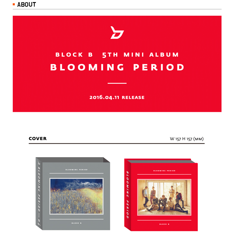 Block B - Mini Album Vol.5 [Blooming period]