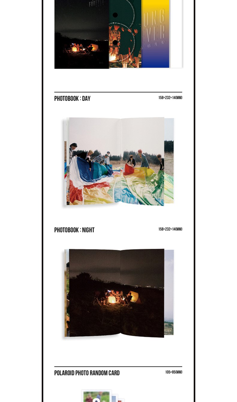 BTS -SPECIAL ALBUM [ YOUNG FOREVER] NIGHT VER