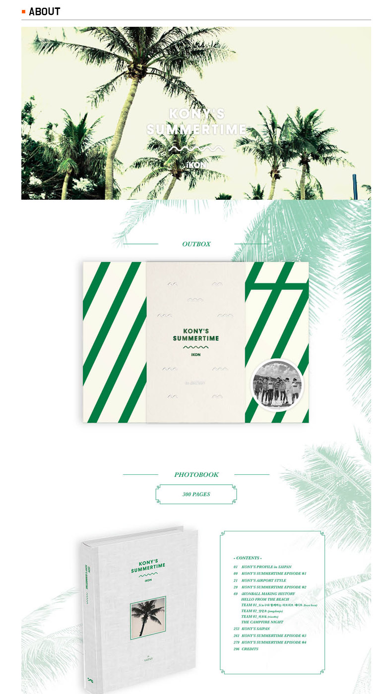 [DVD] iKON - KONY'S SUMMERTIME (Limited Edition)
