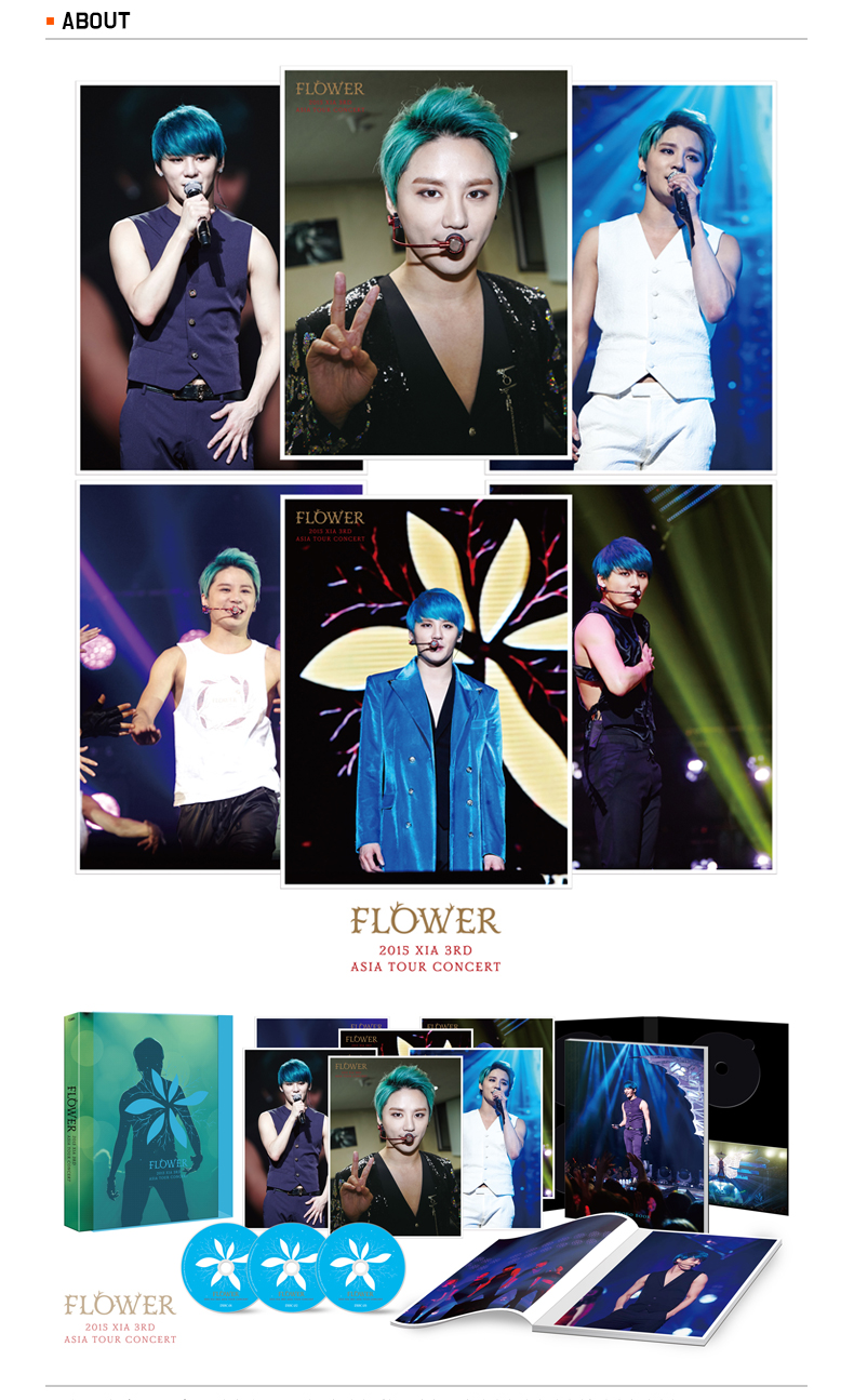 [DVD] XIA(JYJ) - 2015 XIA 3RD ASIA TOUR Encore Concert in Seoul DVD (Limited Edition)