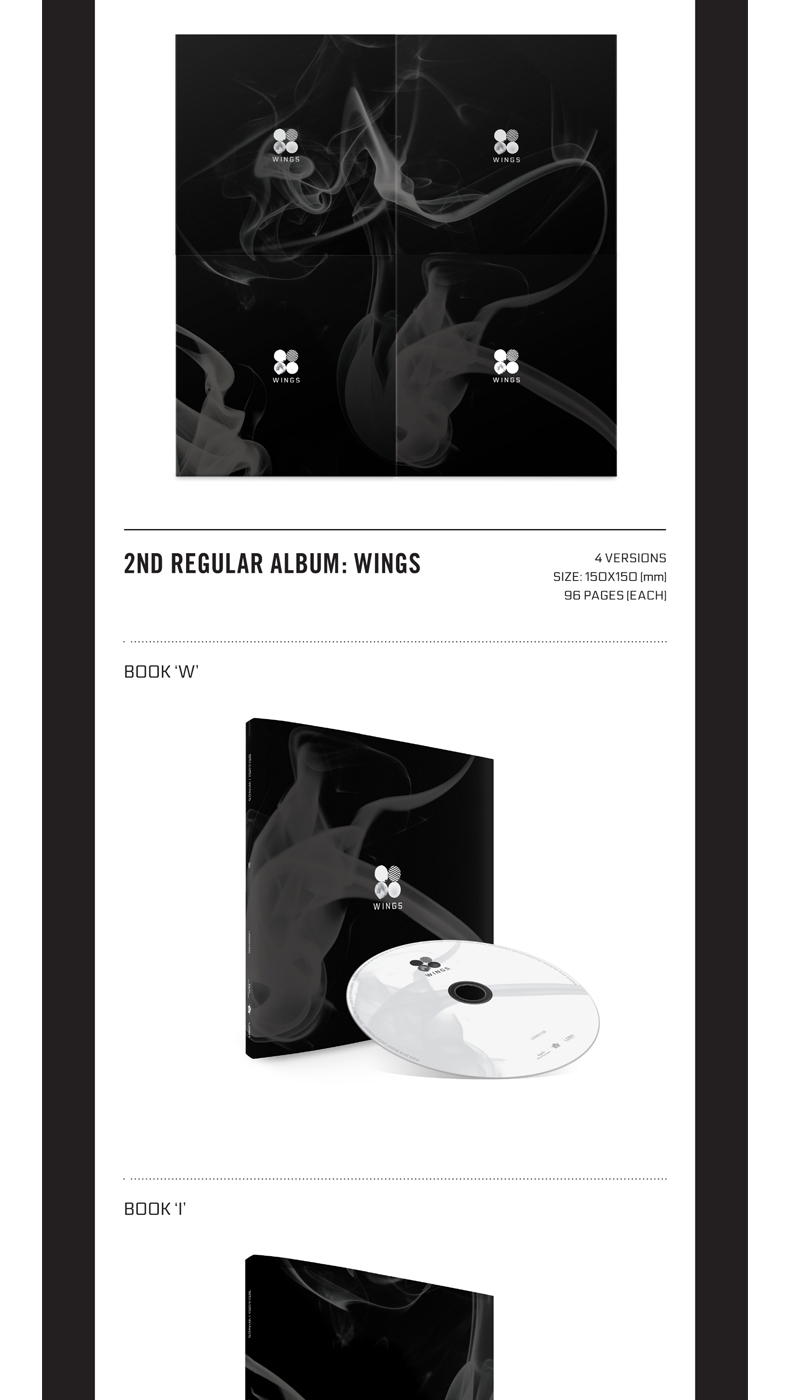 BTS - Album Vol.2 [WINGS] (Random Ver.)