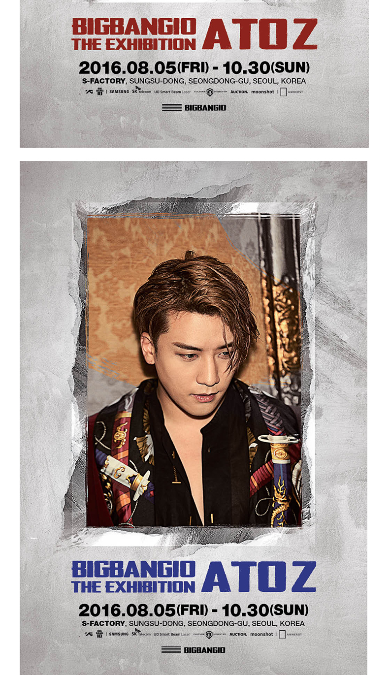 BIGBANG - POSTER SET [BIGBANG10 THE EXHIBITION: A TO Z]