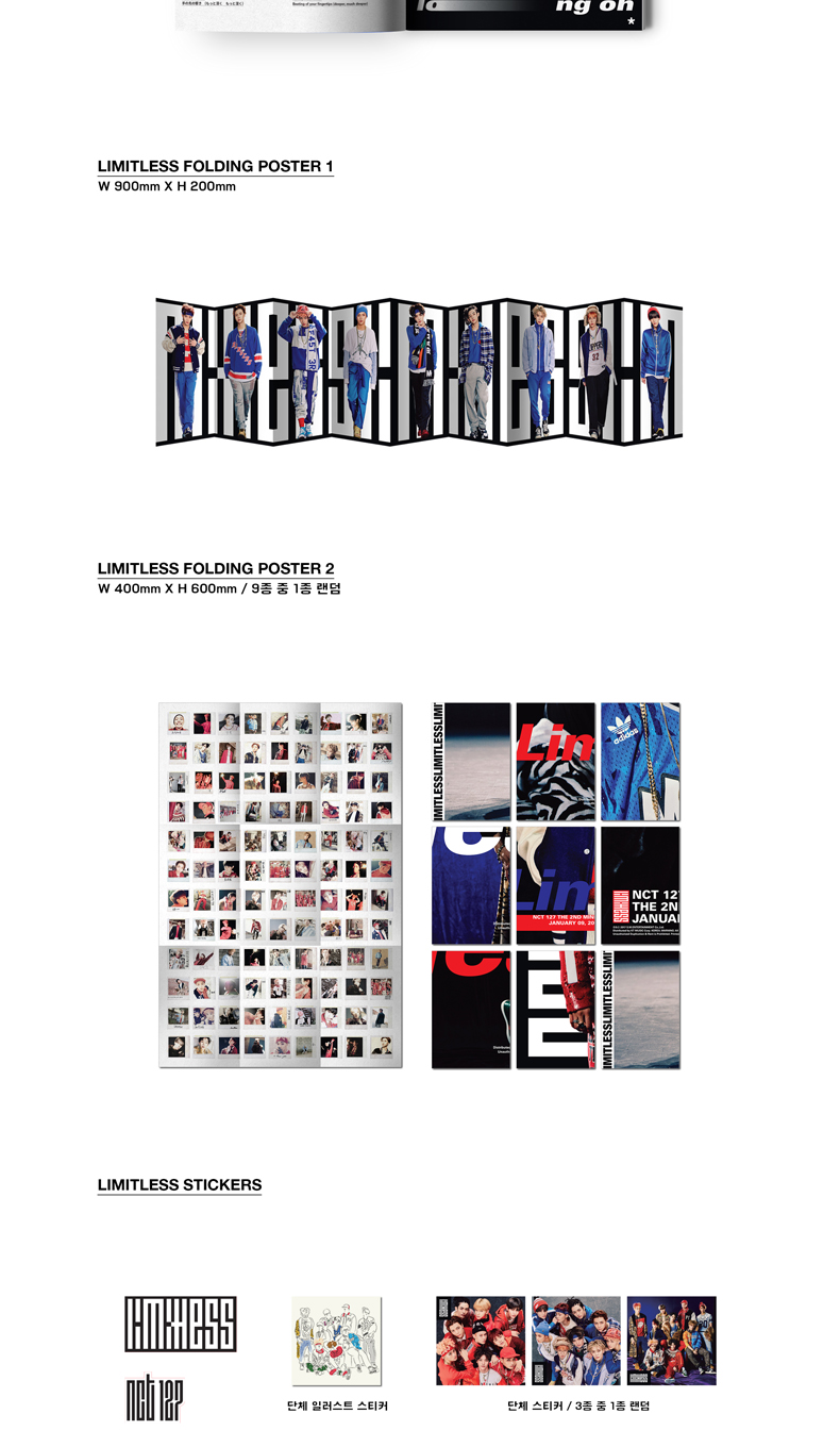 NCT 127 - Mini Album Vol.2 [NCT#127 LIMITLESS] (Random ver.)
