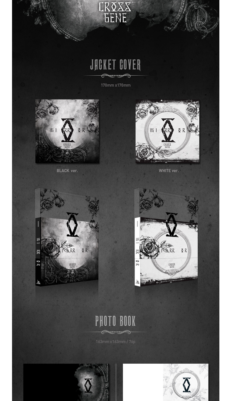 Cross Gene - Mini Album Vol.4 [MIRROR] (Black Ver.)