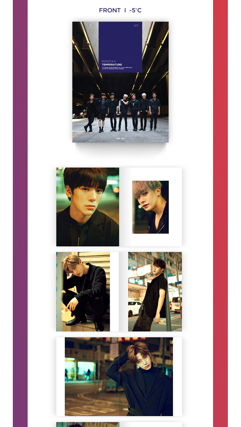 [Photobook] MONSTA X - MONSTA X TEMPERATURE PHOTOBOOK