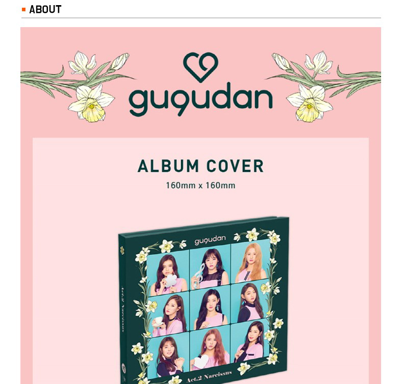 Gugudan - Mini Album Vol.2 [Act.2 Narcissus]