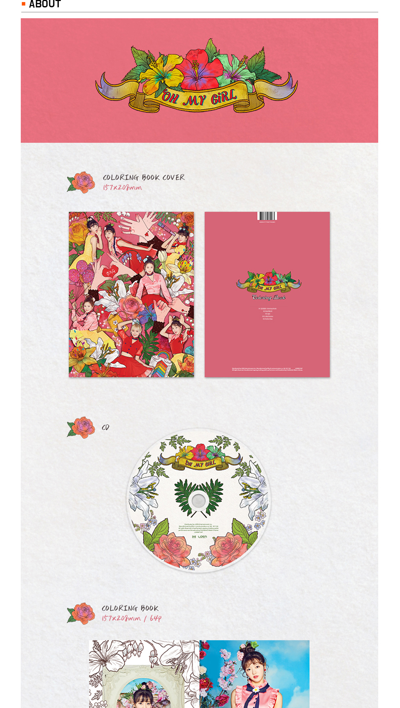 OH MY GIRL - Mini Album Vol.4 [COLORING BOOK]