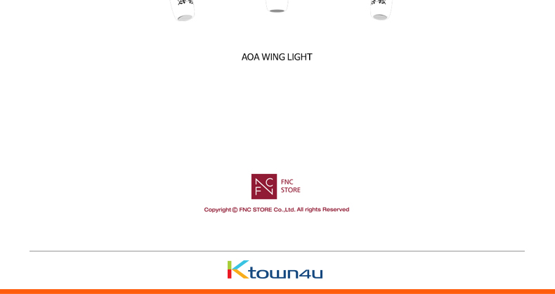 AOA - OFFICIAL LIGHT STICK [AOA WING LIGHT]