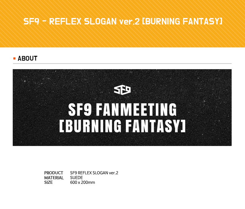 SF9 - REFLEX SLOGAN ver.2 [BURNING FANTASY]