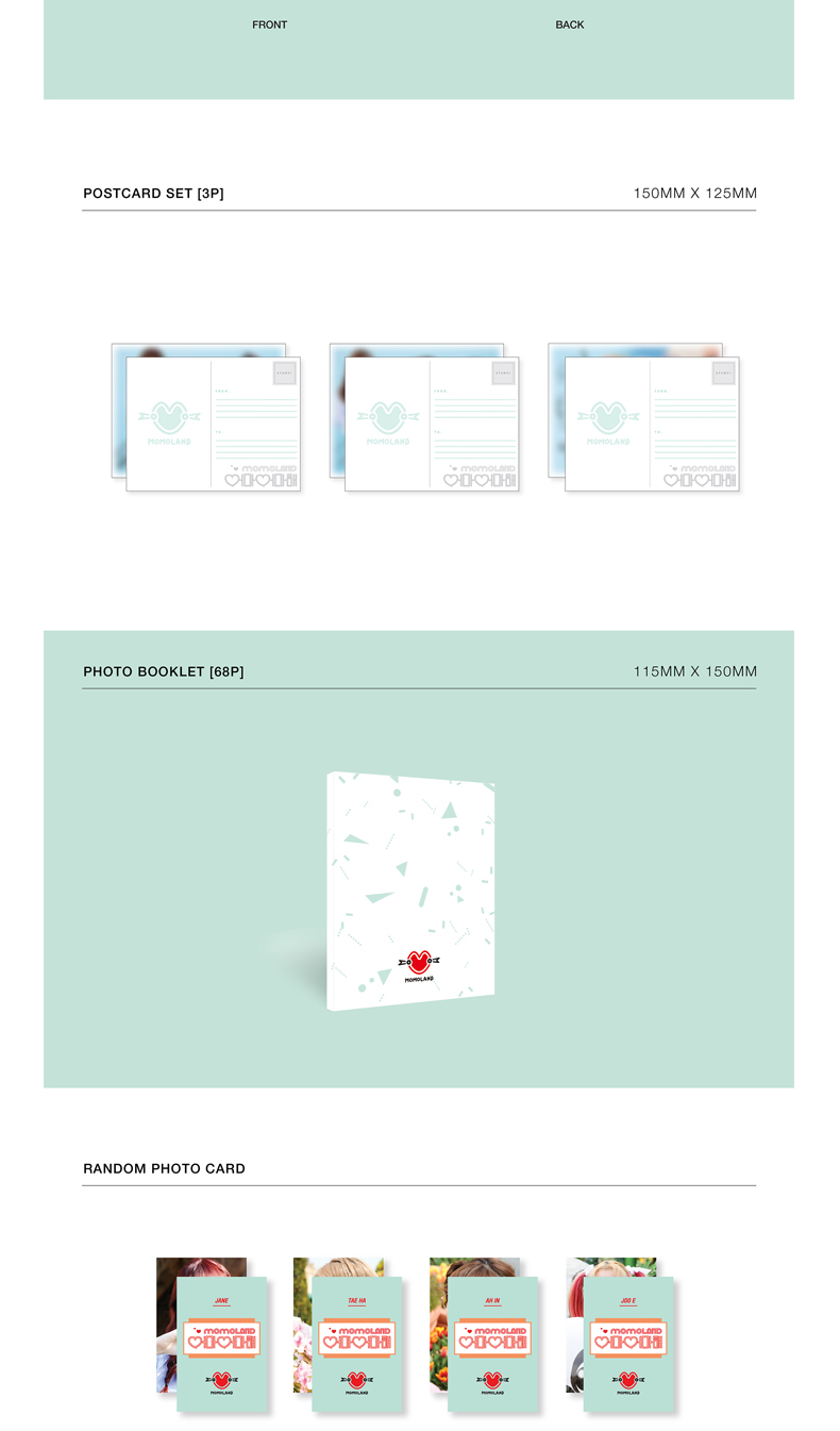 MOMOLAND - Single Album [Immense] (Kihno Album) *Due to the built-in battery of the Khino album, only 1 item could be ordered and shipped at a time.