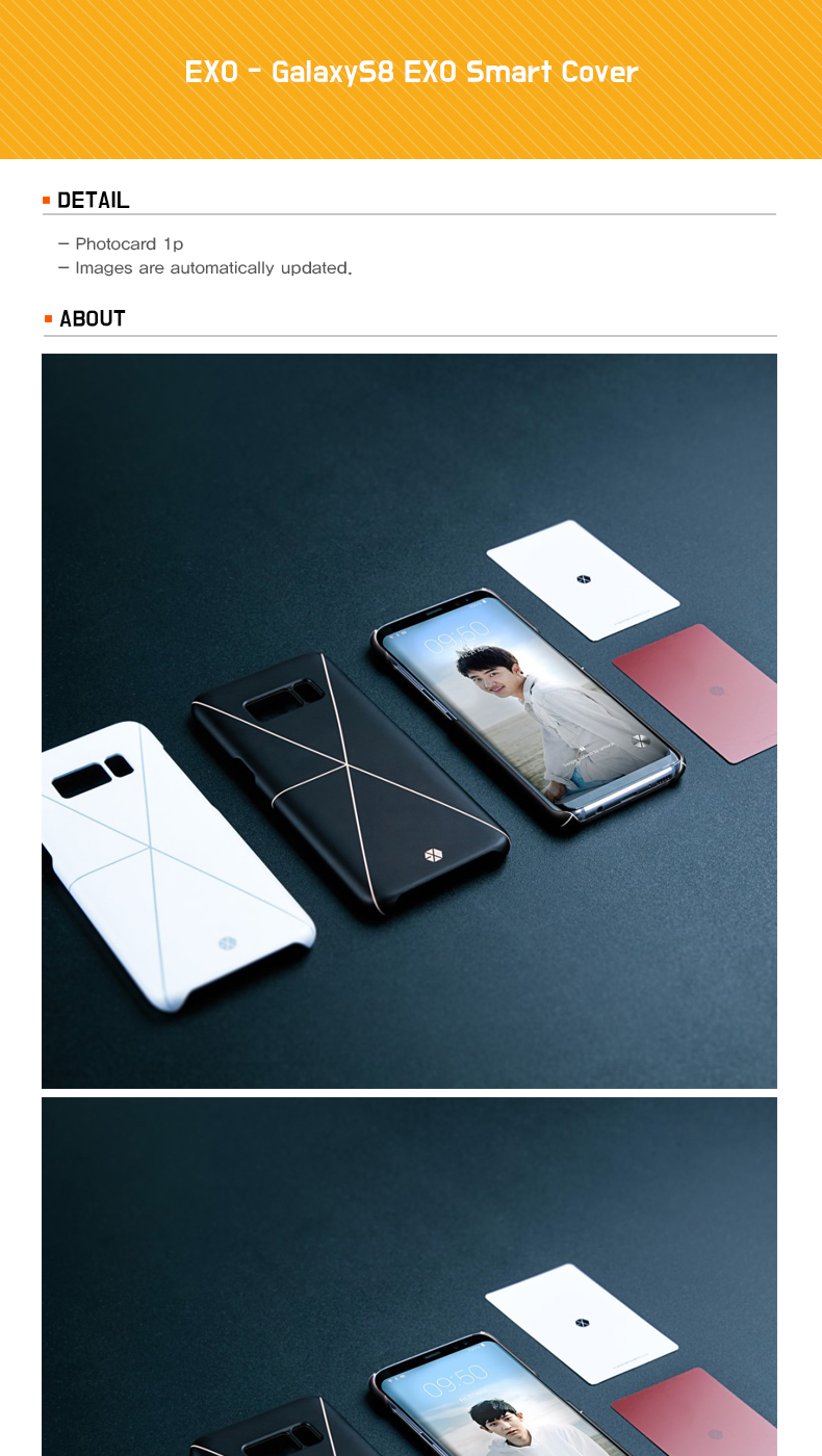 EXO - GalaxyS8 EXO Smart Cover
