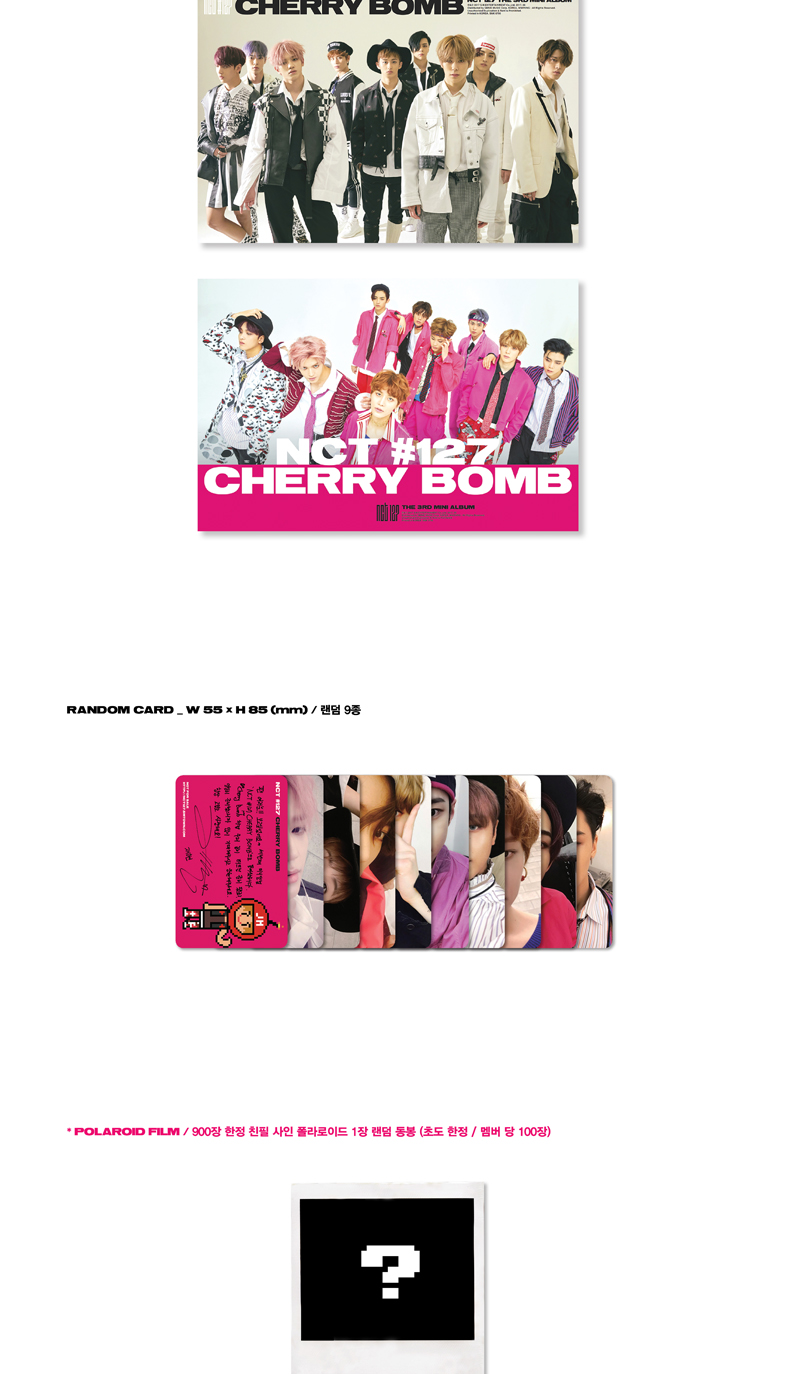 NCT 127 - Mini Album Vol.3 [NCT #127 CHERRY BOMB]