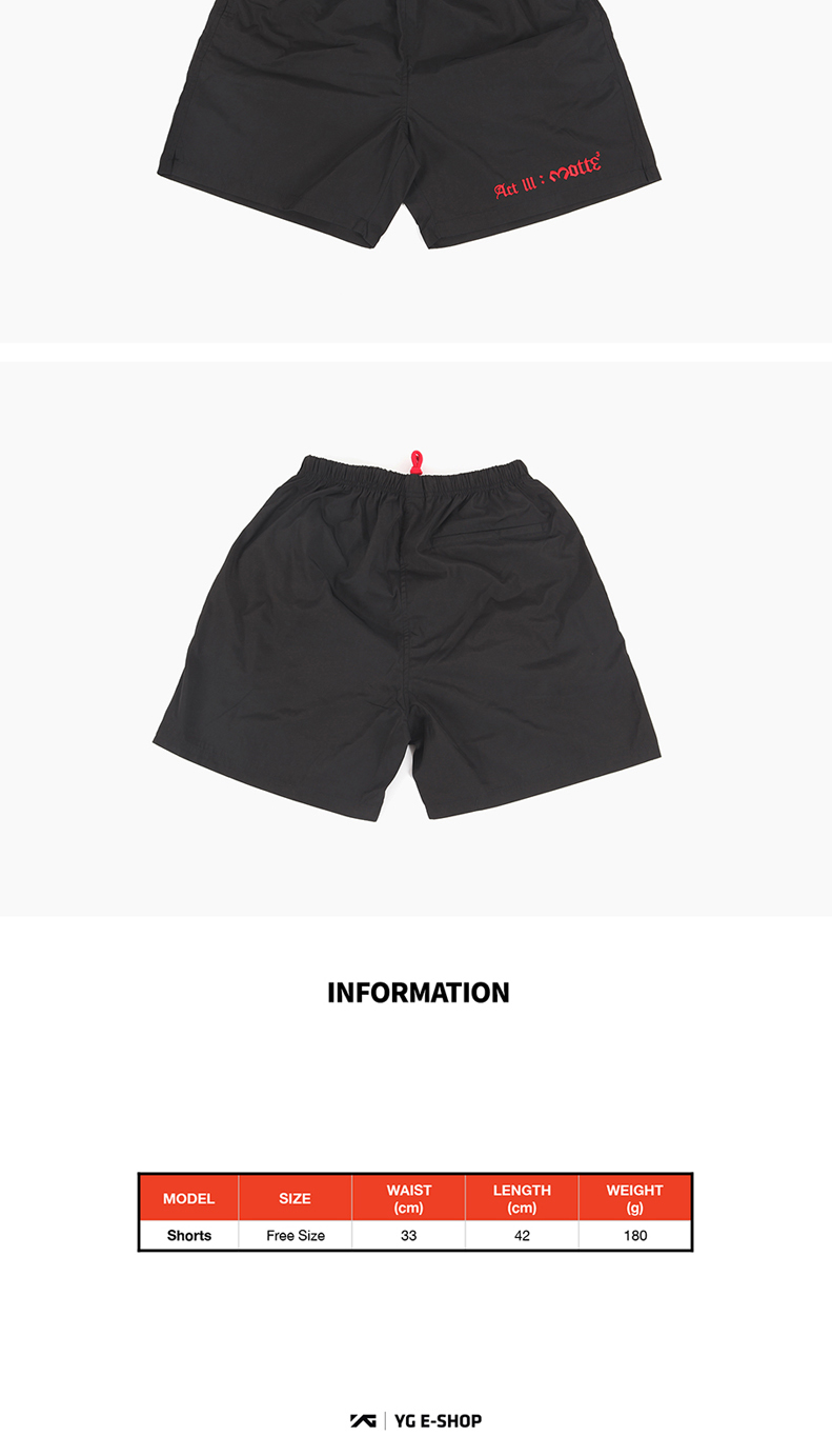 [MOTTE] G-Dragon - SHORTS