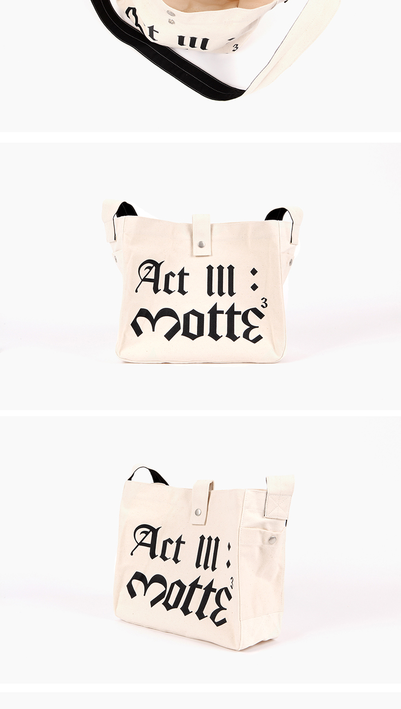 [MOTTE] G-Dragon - CROSS BAG (Order can be canceled cause of producing issue)