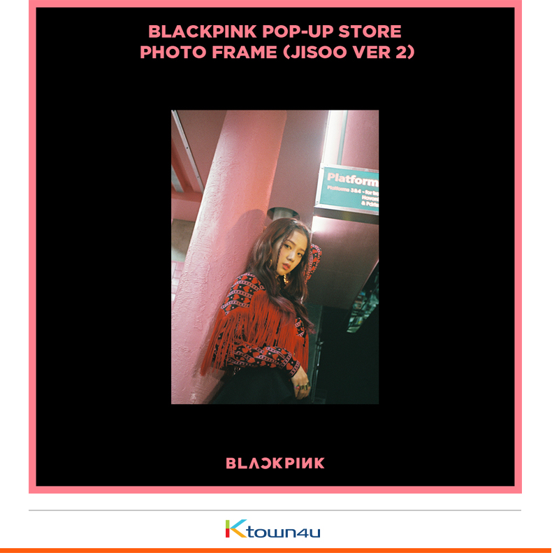 BLACKPINK - POP-UP STORE PHOTO FRAME (JISOO VER 1)