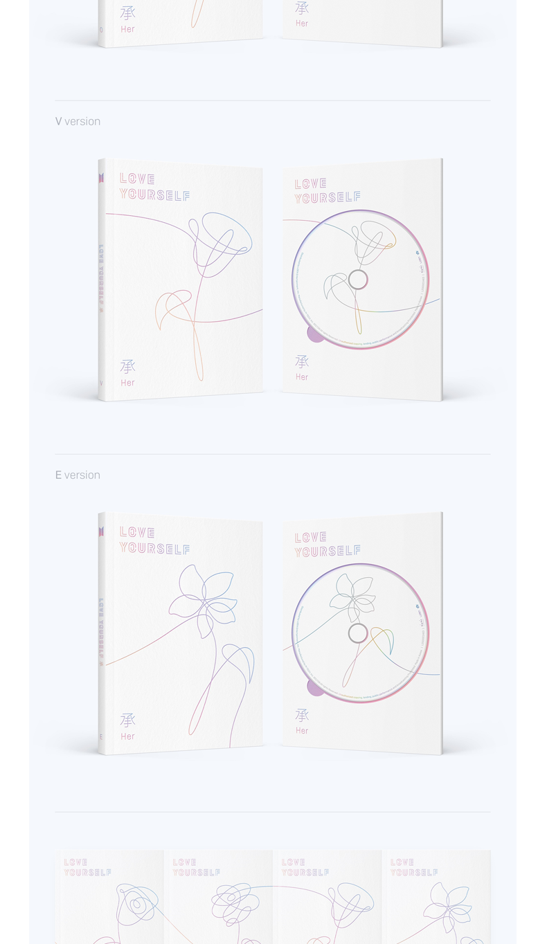 BTS - Mini Album Vol.5 [LOVE YOURSELF 承 Her] (E Ver.)